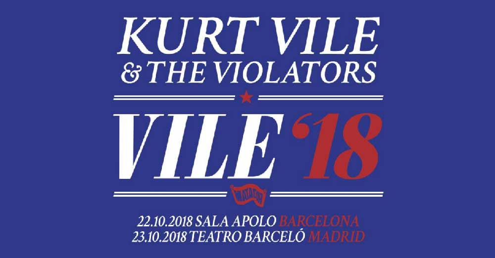 Kurt Vile and The Violators en Barcelona y Madrid