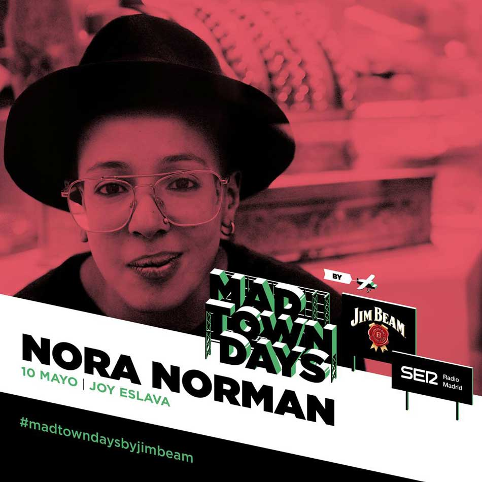 Nora Norman se cita con el Madtown Days by Jim Beam