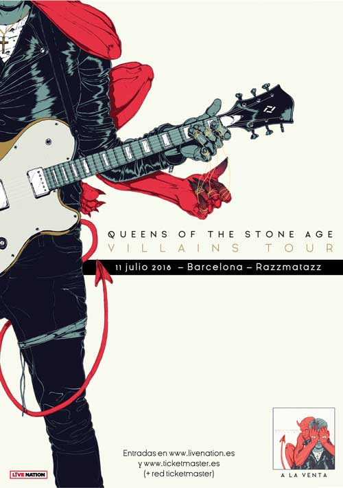 Queens Of The Stone Age en Barcelona este verano
