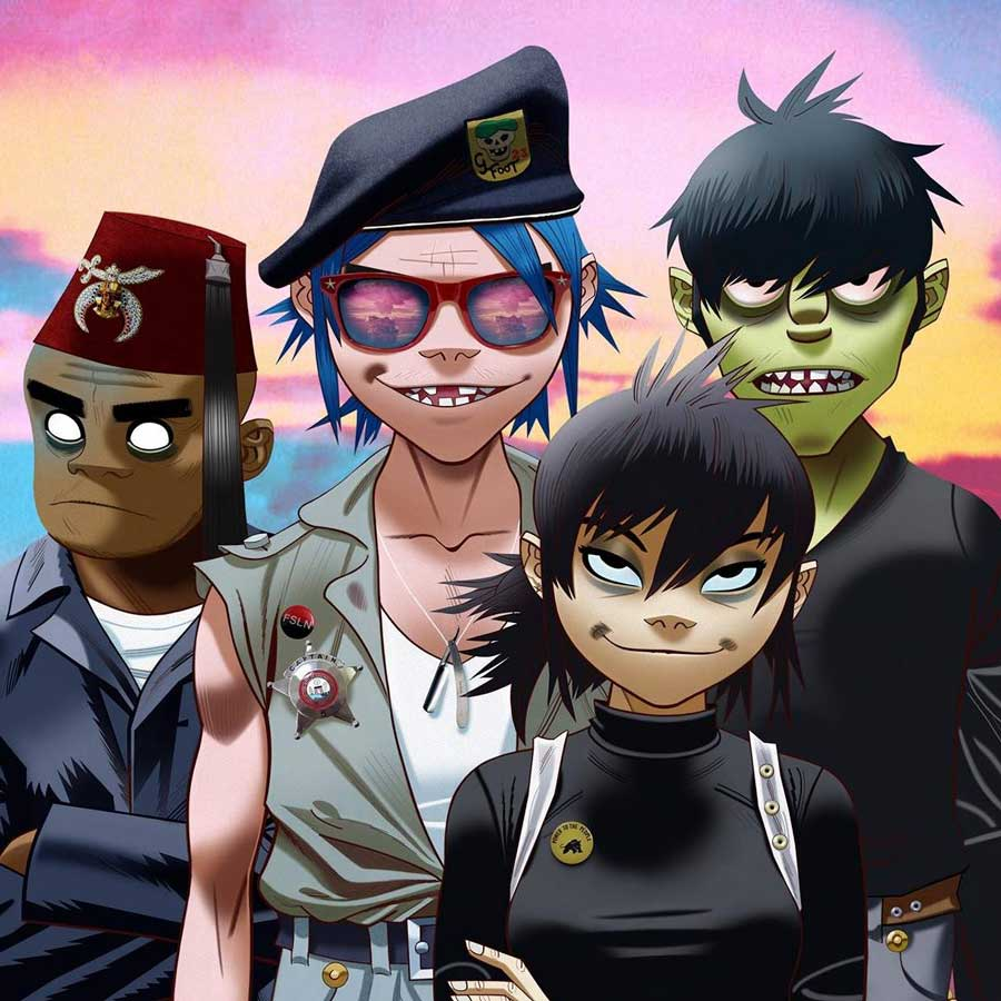 The Now Now: nuevo disco de Gorillaz para junio