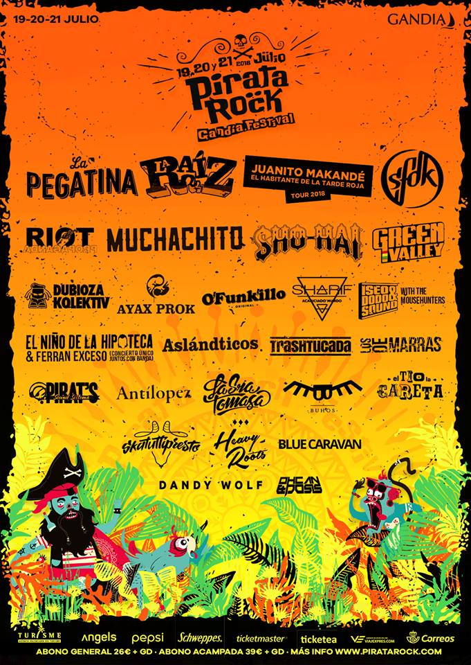 Pirata Rock - Cartel Completo