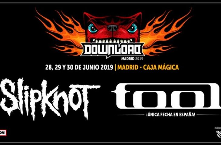 Slipknot y Tool: Primeras confirmaciones del Download Madrid 2019