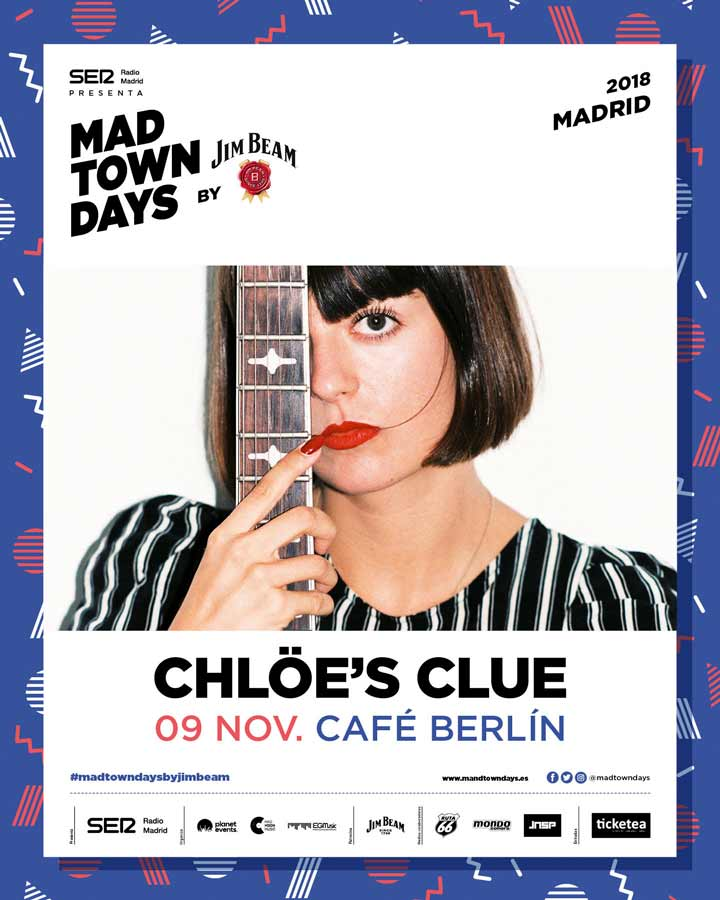 Chlöe's Clue llega al ciclo Madtown Days by Jim Beam
