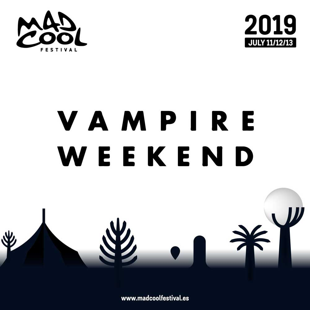 Vampire Weekend, cuarta confirmación del Mad Cool 2019