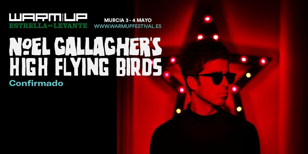 Noel Gallagher estará en el Warm Up 2019