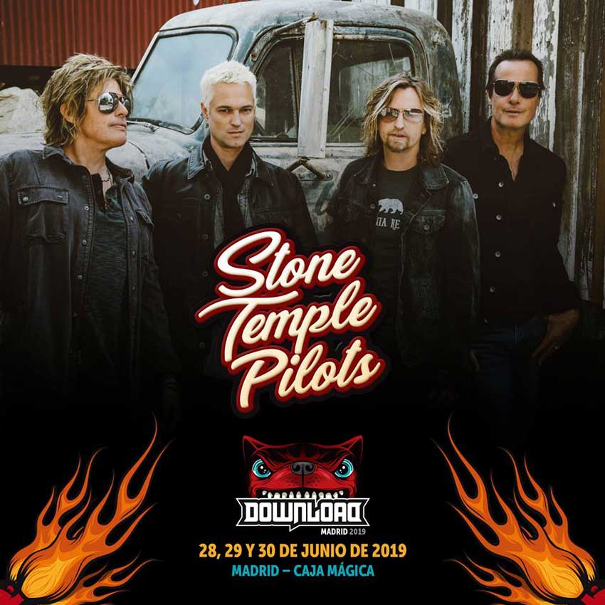 Stone Temple Pilots estarán en el Download Madrid 2019
