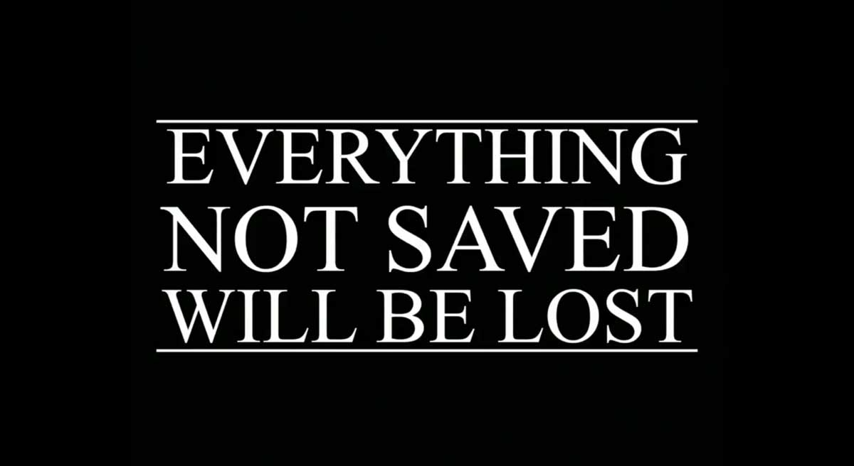 Foals Everything Not Saved Will Be Lost
