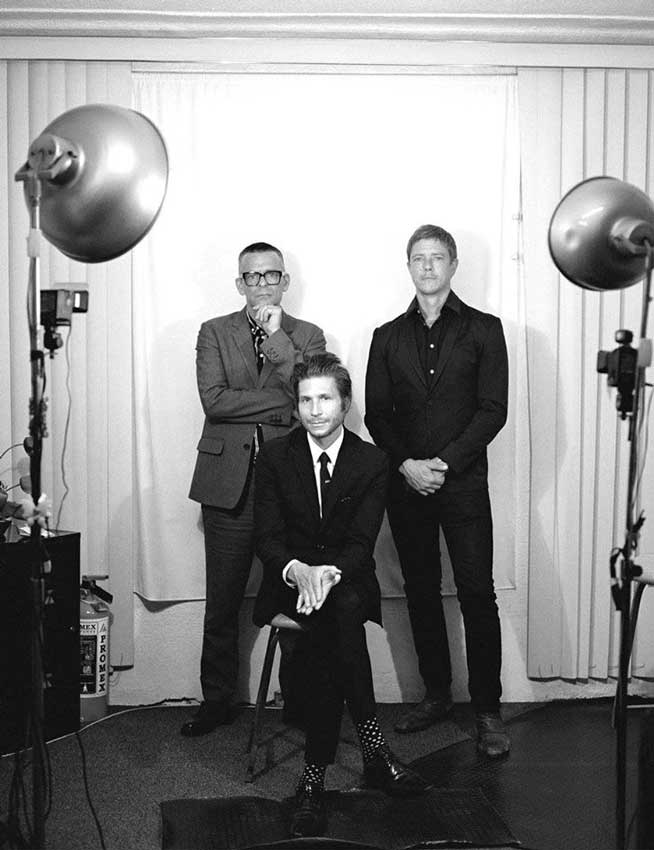 Interpol lanzan nuevo single Fine Mess