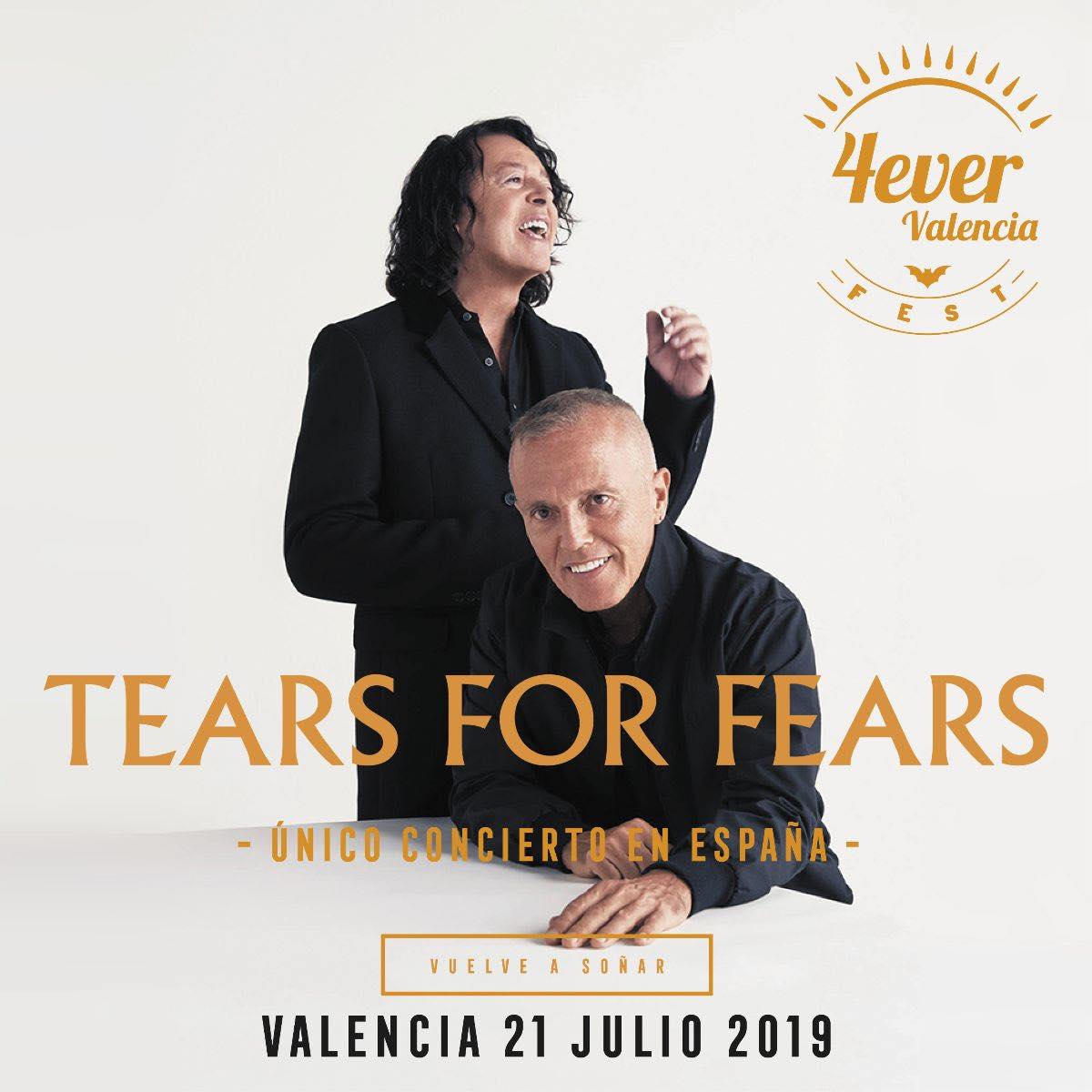 Tears for Fears en el 4ever Valencia Fest