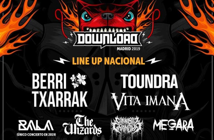 El Download Madrid 2019 confirma su tanda nacional