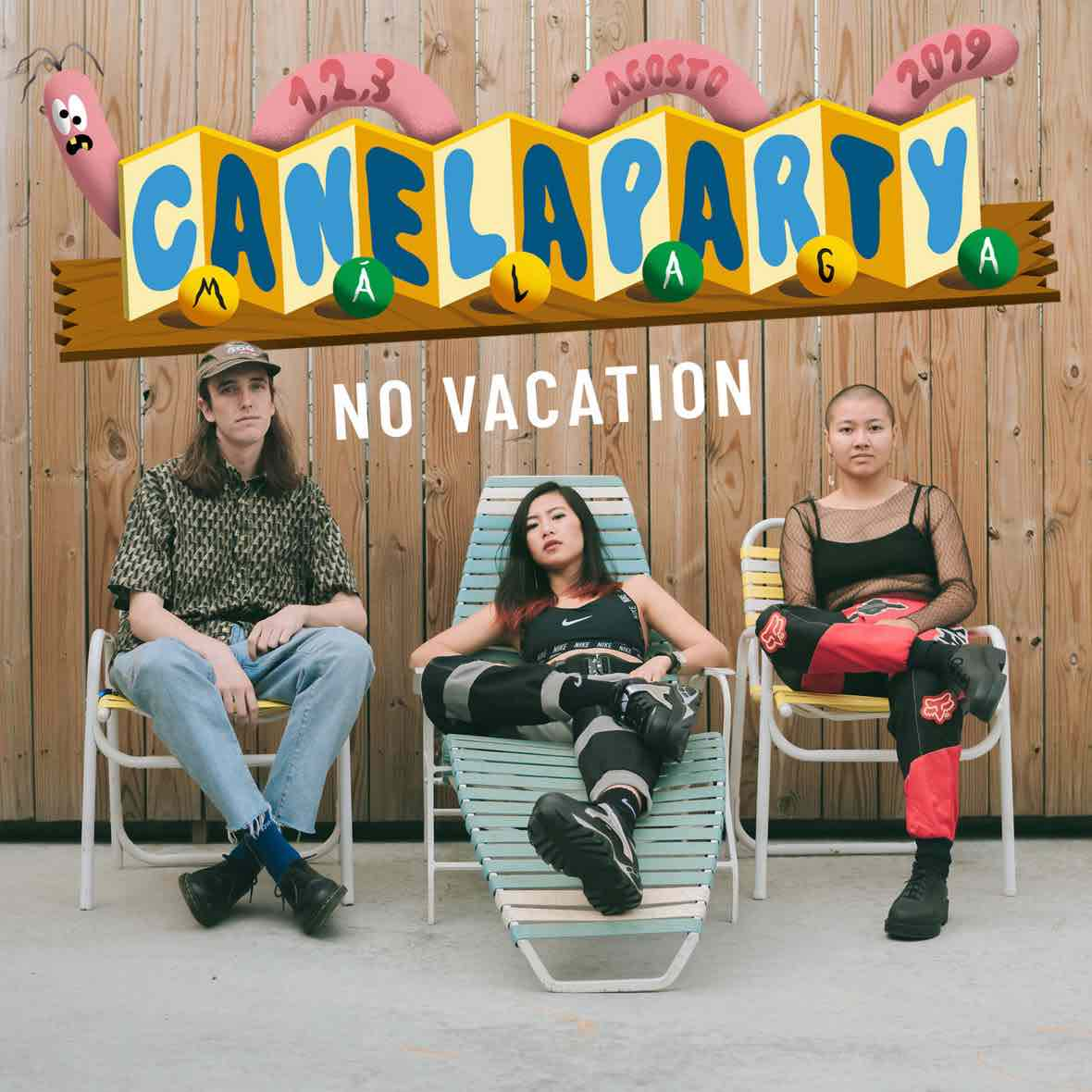No Vacation estarán en el CanelaParty 2019