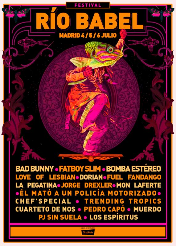 Río Babel 2019 cierra su cartel con Bad Bunny y Love of Lesbian