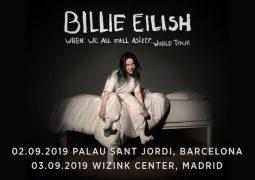 Conciertos de Billie Eilish en Barcelona y Madrid