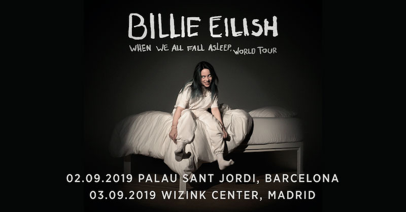 Conciertos de Billie Eilish en Barcelona y Madrid