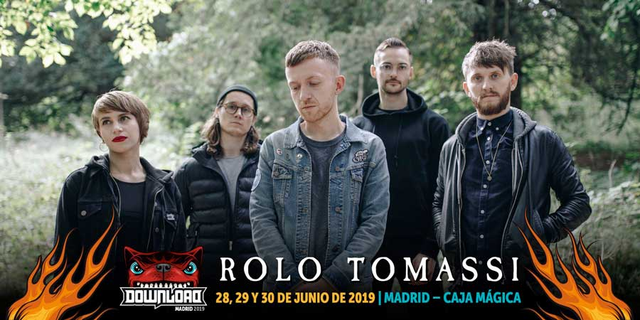 Rolo Tomassi sustituyen a Chevelle en el Download Madrid 2019