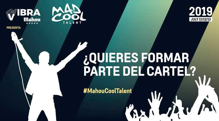 Conoce los finalistas del Mad Cool Talent 2019