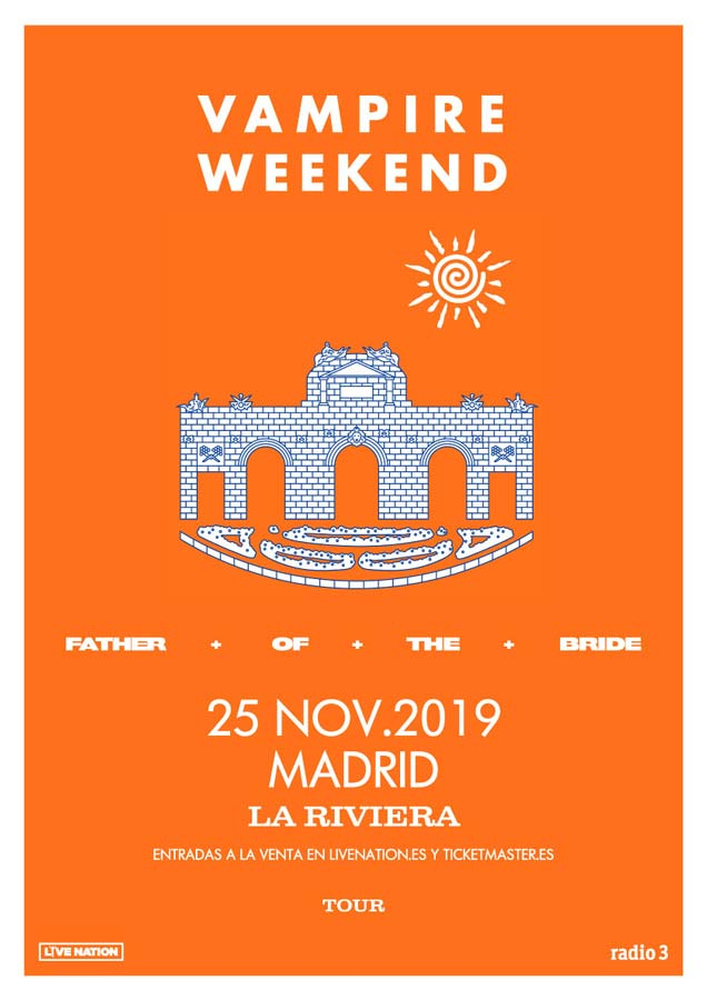 Fechas de Vampire Weekend en Barcelona y Madrid