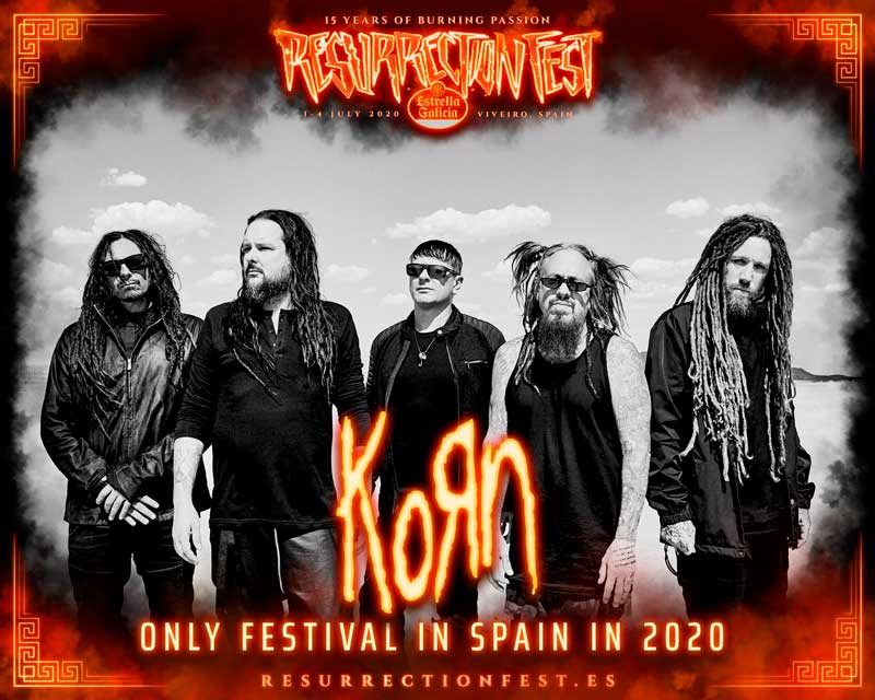 Judas Priest y Korn se suman al Resurrection Fest 2020