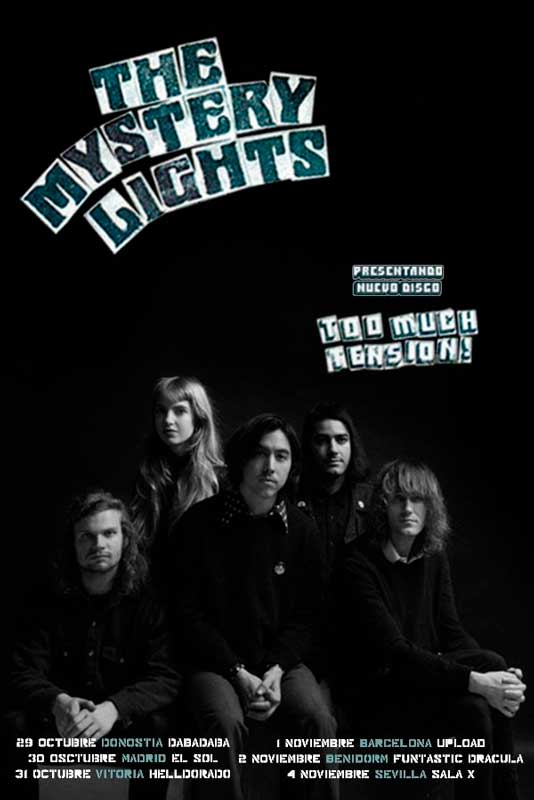 Conciertos de The Mystery Lights en España