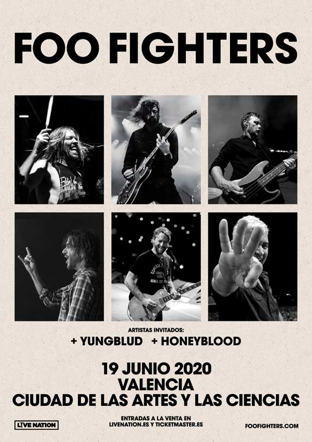 Foo Fighters en Valencia