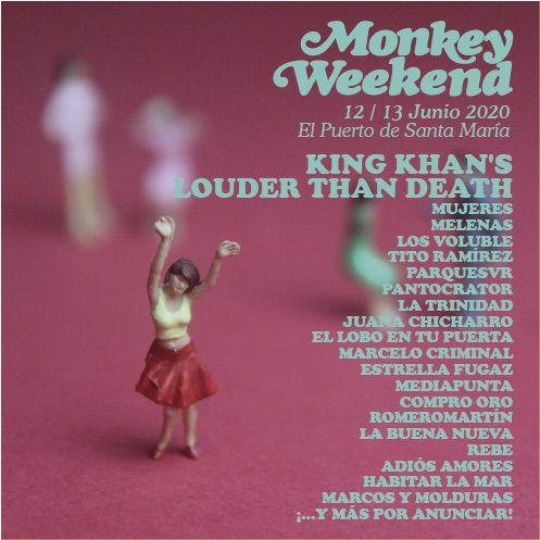 nuevas confirmaciones Monkey Weekend 2020