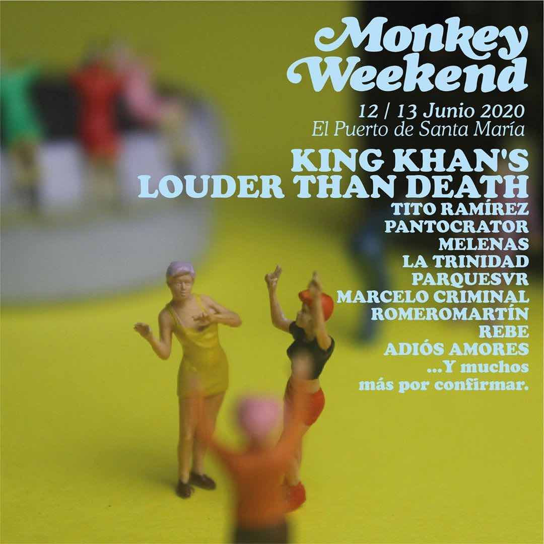 primeras confirmaciones Monkey Weekend 2020