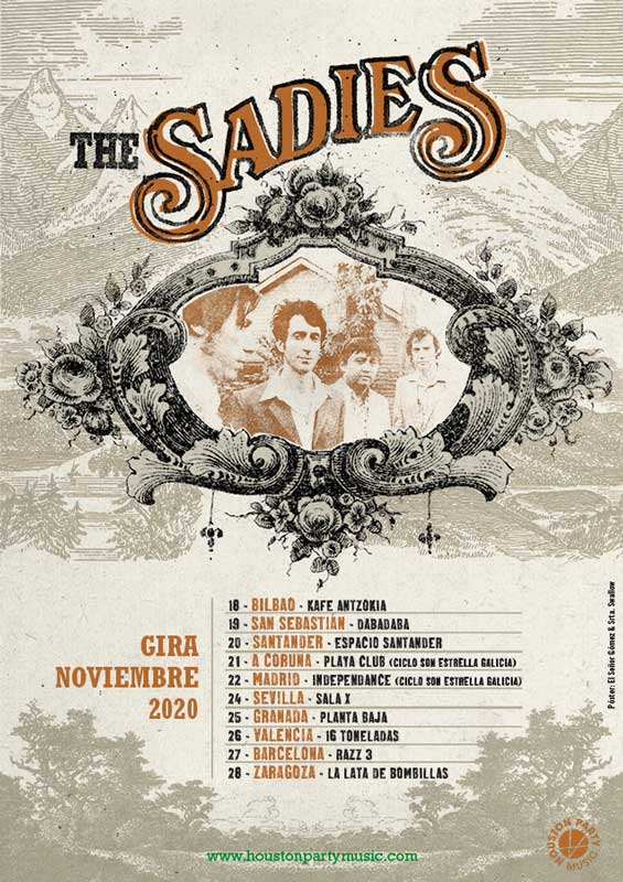 Gira de The Sadies en España