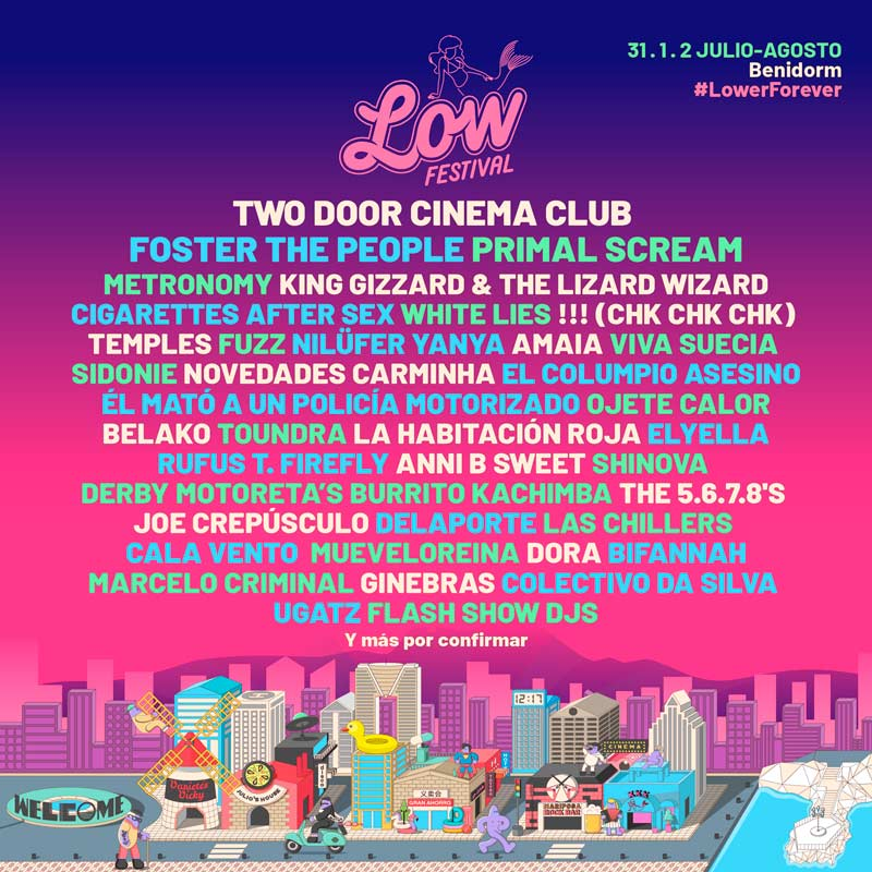 Foster The People y Toundra se suman al Low Festival 2020