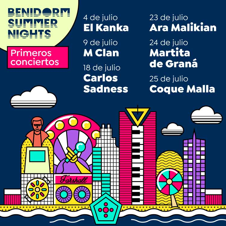 Benidorm Summer Nights
