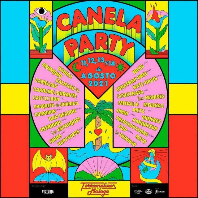 cartel CanelaParty 2021