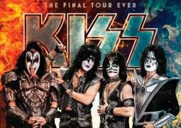 Cartel de Kiss en Madrid en 2021