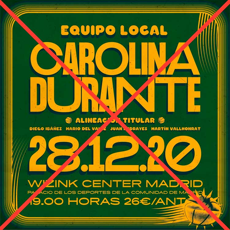 Carolina Durante Wizink Center