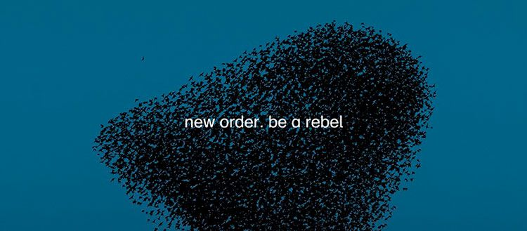 New Order Be a Rebel