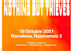 Nothing But Thieves en Barcelona