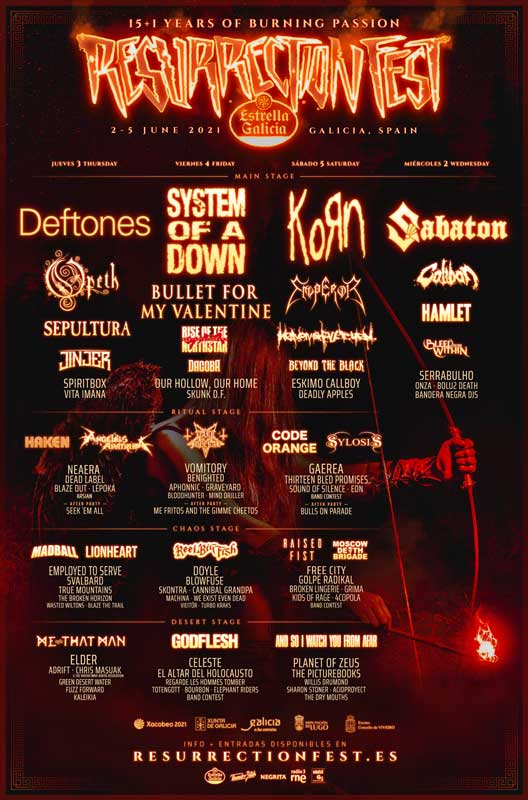 cartel resurrection fest 2021